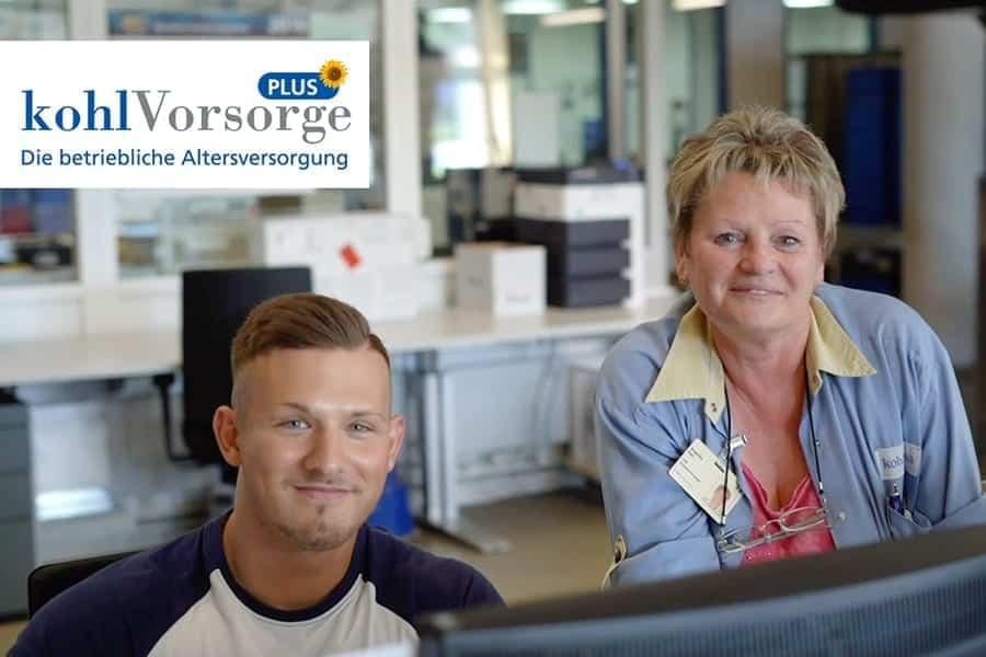 Die kohlvorsorge Plus ist die betriebliche Altersvorsorge für alle, die bei kohlpharma in Merzig arbeiten.