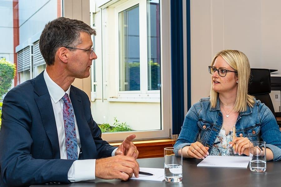 Arbeiten bei kohlpharma in Merzig bedeutet auch kurze Wege zum Vorgesetzten.
