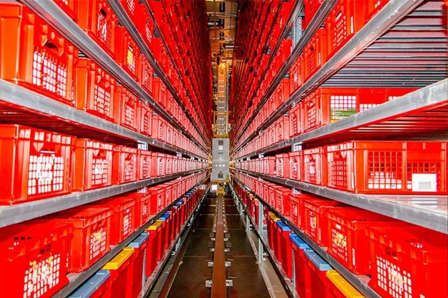 kohlphahrma - Inbetriebnahme des neuen automatisierten und vergrößerten Kühllagers
